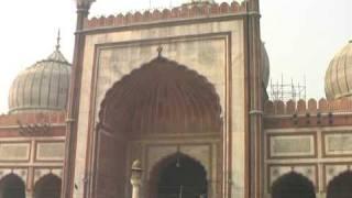 Travel India-Jama Masjid Delhi