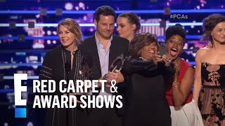 The People's Choice for Favorite Network TV Drama is Grey's Anatomy