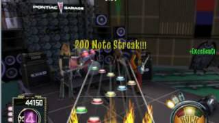 Frets On Fire --Through The Fire And Flames Intro Expert 5 star