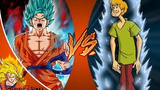 GOKU vs SHAGGY! (Scooby Doo vs Dragon Ball Z) Salt Assault! REACTION!!!