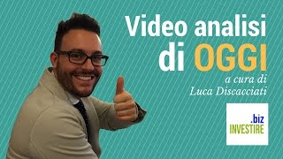 Video analisi di OGGI - Ingresso perfetto su EUR/USD. Cantonata sul GOLD - 05/10/2016
