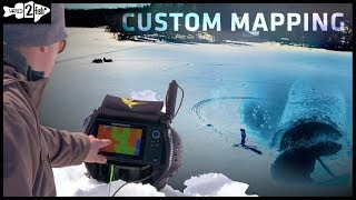 Ice Fishing With Custom Mapping: Finding Fish Fast