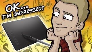 MY #1 BUDGET DIGITAL TABLET!  - Huion Inspiroy H950P Review
