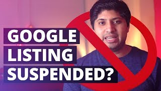 Google My business Suspended? [SOLVED]