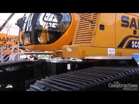 Xxx Mp4 Sany Introduces SCC8100TB Crawler Crane At CONEXPO 2014 3gp Sex