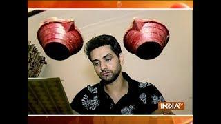 Shakti Arora decorates his house for Diwali