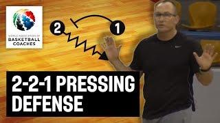 2-2-1 Pressing Defense - Brendan Mann - Basketball Fundamentals