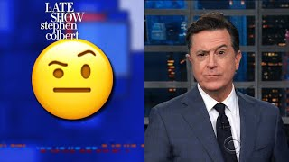 The 'Colbert Emoji' Is Now On Your Phone... Finally