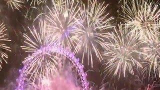 pesta kembang api tahun 2016 terbesar