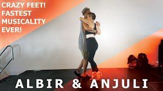 Bach-G Minor Kizomba Remix / Albir Rojas & Anjuli Kizomba Fusion Dance @ CSSF Festival 2017