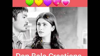 Kannukulla Nikkura En Kadhaliye Unna Vitta Yaar Thunaiye Whatsapp Tamil 30 Seconds Love Status Video