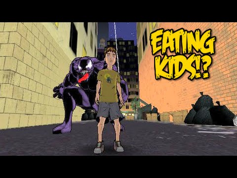 YOU CAN EAT CHILDREN ULTIMATE SPIDER MAN GAMECUBE GAMEPLAY