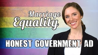Honest Government Advert - Marriage Equality Plebbyshite