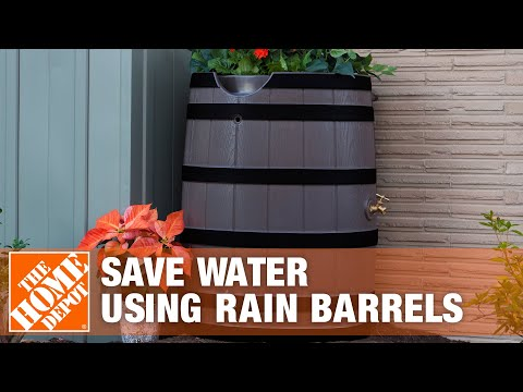 How to Save Water Using Rain Barrels