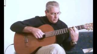 Ne me quitte pas (If you go away) - acoustic guitar solo
