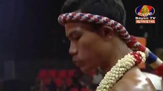 Khmer Boxing,Chan San VS Wangngerntungre(Thai), Kun Khmer, BayonTv Boxing