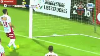 Gol de Guerra - Atletico Nacional 2  Vs 1 Huracan - Copa Libertadores