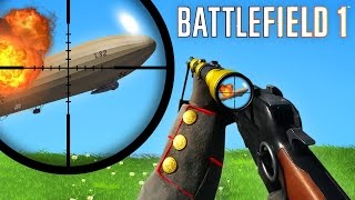 BATTLEFIELD 1 FAILS & Epic Moments! #4 (BF1 Funny Moments Gameplay Montage)