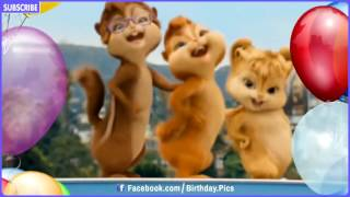 Chipmunks &  Chipettes Style Happy Birthday Song Video