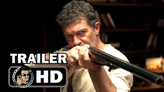 BLACK BUTTERFLY Official Trailer (2017) Antonio Banderas,  Jonathan Rhys Meyers Thriller Movie HD