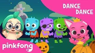 Creepy Zombies | Halloween Songs | Dance Dance | PInkfong Songs for Children