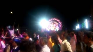 Mukundraj Dhumal group dhamtari cg in Arang Ganesh visarjan