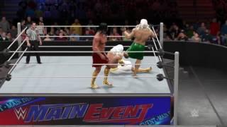 WWE 2K17 Zeus vs Hades vs Poseidon