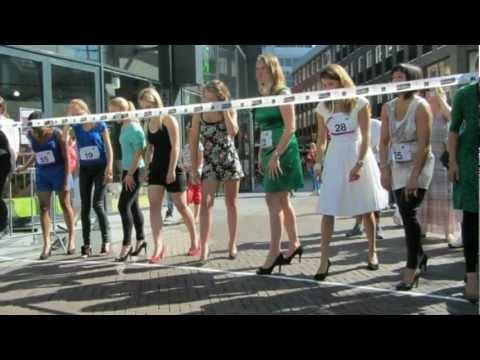 Stiletto Run Hoge Hakken Race Eindhoven 8 9 2012