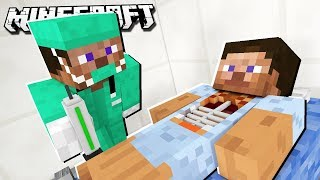 SURGERY ON STEVE & HEROBRINE in Minecraft!