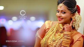 The Most Special Hindu Wedding Highlights in Kerala Sreeveena+Vishnu