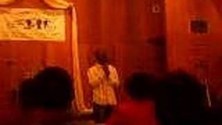 My singing a song at my friends Birthday Musical...