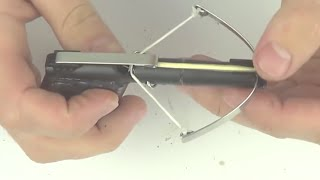 How to make a MINI CROSSBOW with 3 pens / HACK PENS !