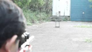 A PLUS Airsoft X-Ring Project 30M Test