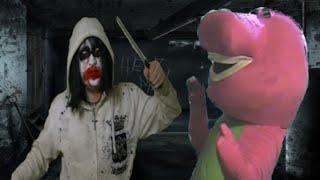 Jeff The Killer Vs Barney The Dinosaur