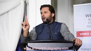 Shahid Afridi in Calgary