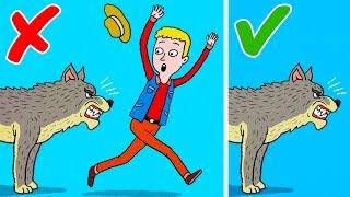 6 Ways to Survive Wild Animal Attacks