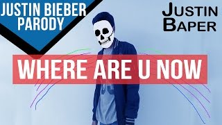 Where Are U Now - Justin Bieber Parody (Stop Motion)