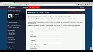 Traffic Monsoon How To Up Load Your ID To Buy Ad Packs