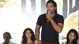 Vedam Music Launch - Allu Arjun, Manoj, Anushka (Part 3)