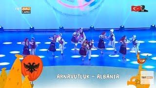 Arnavutluk - 23 Nisan 2017 Gösterisi - Nevşehir - TRT Avaz