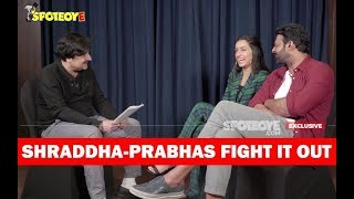 Shraddha Kapoor-Prabhas Fight: Who Knows The Other More Closely? | SpotboyE | Vickey Lalwani