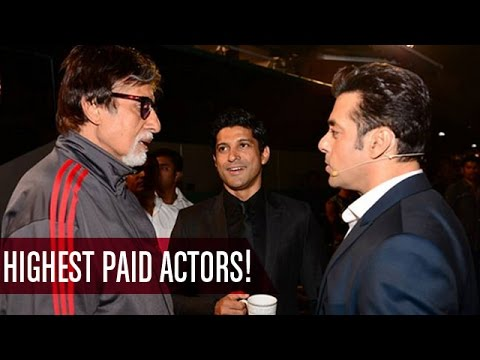 Salman Khan, Amitabh Bachchan, Akshay Kumar | Highest Paid Bollywood Actors | Bollywood News