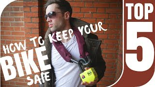 Top 5 Ways To Keep Your Motorbike Safe | From London Biker