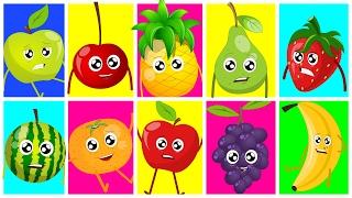Ten In The Bed | Fruits Song | Learn Fruits | Nursery Rhymes | Kids Songs | Baby Rhymes