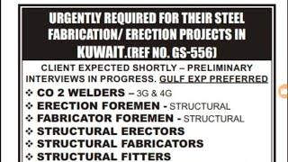 Kuwait,Qatar,Dubai job update