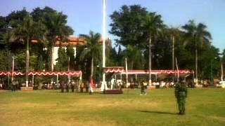 Habib Luthfi Bin Ali Bin Hasyim Bin Yahya Inspektur Upacara Gebyar Merah Putih NKRI