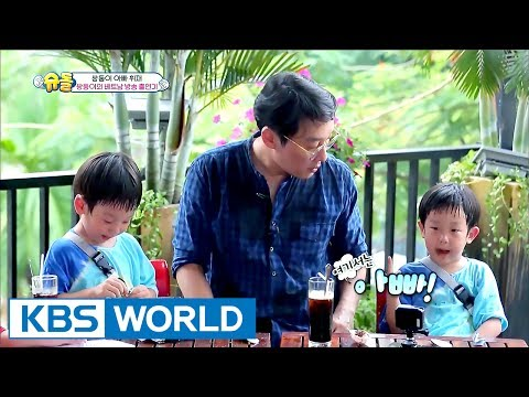 Twins are on Vietnamese TV station!? [The Return of Superman / 2017.07.09]