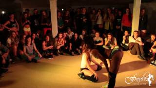 FDC - Jamaican hot weekend 2014 - twerk 1x1 - 1/2 final - Keat Mel vs. Mary (winner - Keat Mel)