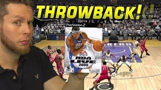 NBA Live 2005 THROWBACK! What happened EA?