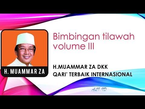 BIMBINGAN TILAWATIL QUR'AN OLEH H. Muammar ZA Volume VI Side A  Tehnik Pernafasan